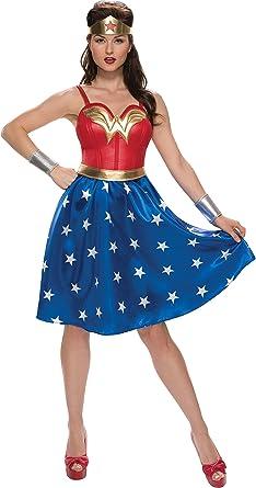 Rubie's Womens Dc Comics Classic Wonder Woman Costume Dress