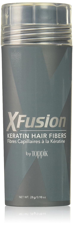 XFusion Dark Brown Keratin Hair Fibres 28 Gram Bee Line Industries XFED