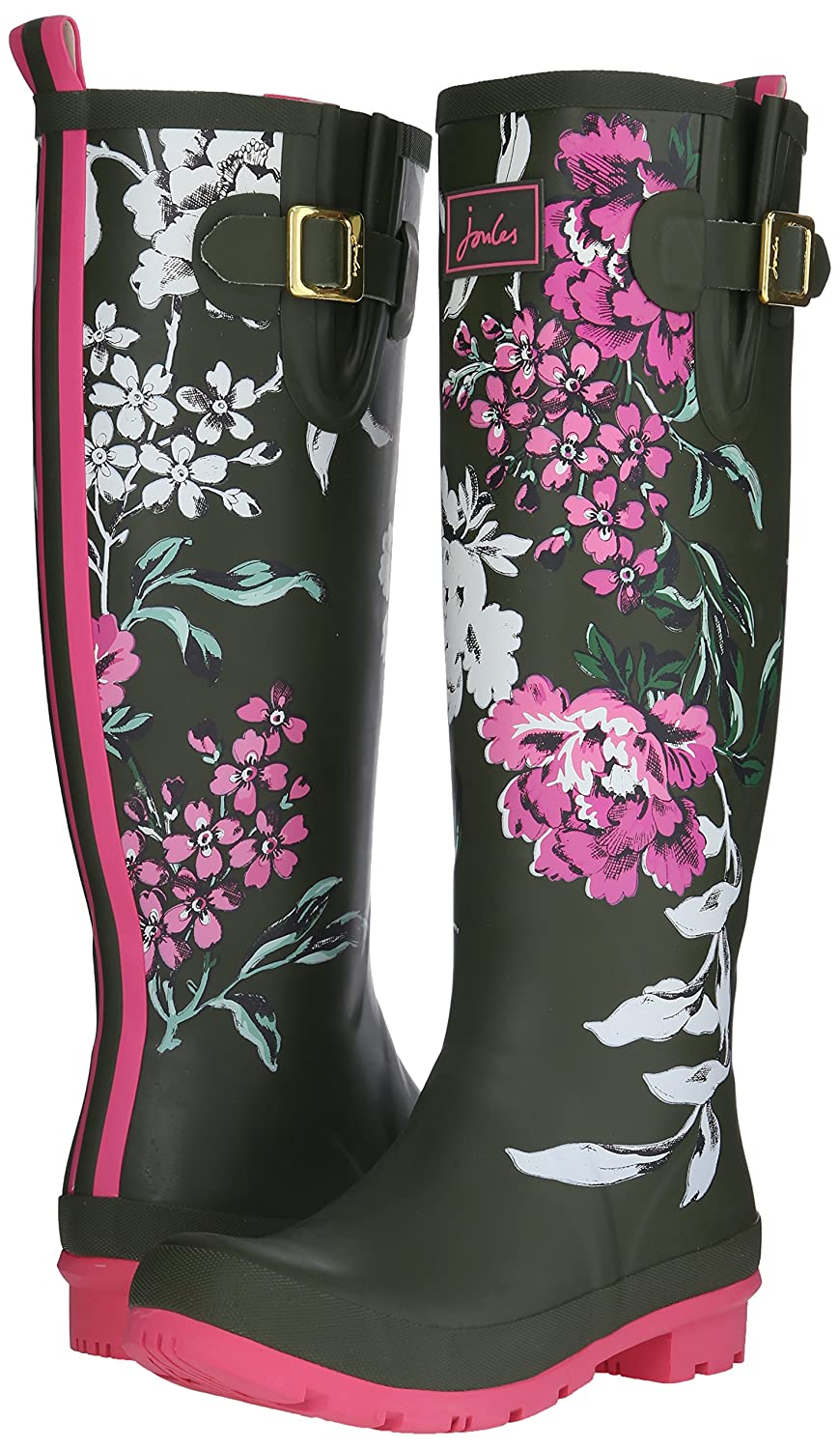 Joules Women's Welly Print Rain Boot B015PIFG32 Floral 7 B(M) US|Grape Leaf Floral B015PIFG32 1dc851
