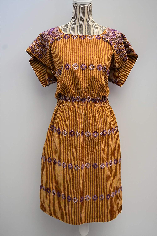 loom  huipil boho long dress kaftan beach Oaxaca dress boho long dress bohemian dress Mexican dress long kaftan hippie dress