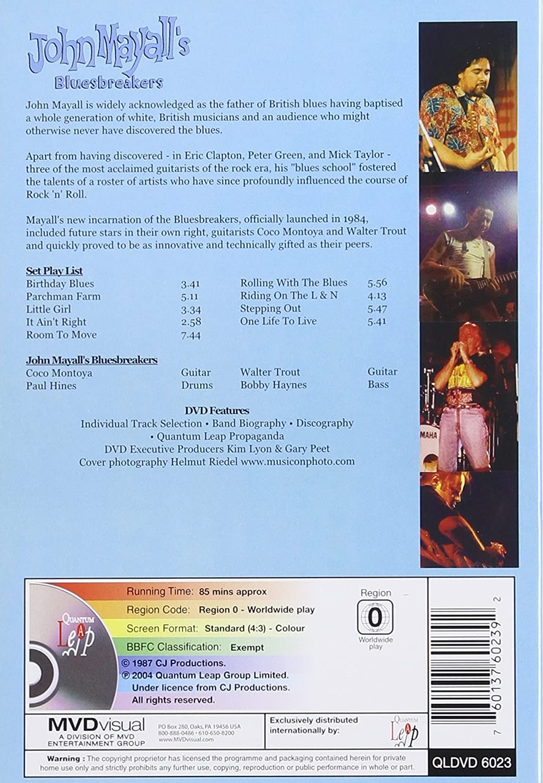 Amazon: Live At Iowa State University: John Mayall, Walter Trout, Coco  Montoya, Paul Hines, Bobby Haynes: Movies & Tv