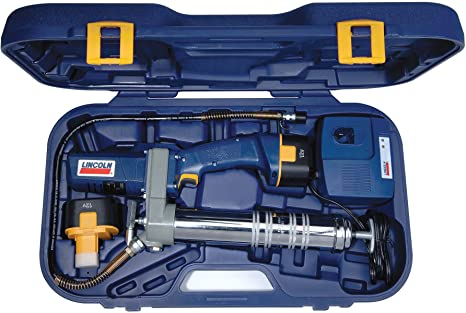 Electric Grease Gun >> Lincoln Lubrication 1244 Powerluber 12 Volt Cordless Grease Gun With Battery Kit