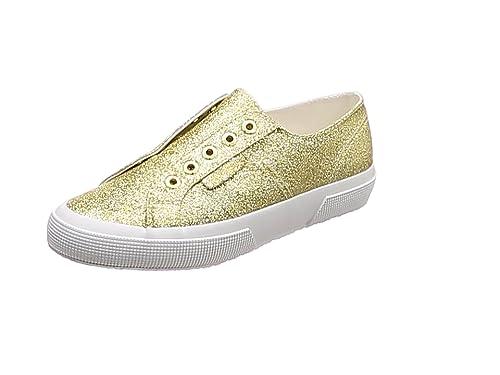 Superga 2750 Microglitterw Sneaker Donna Argento Grey Silver 031 39.5