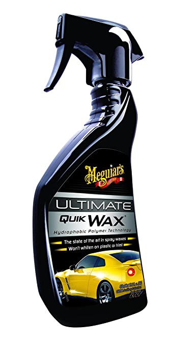 130 opinioni per Meguiar's 73038 Ultimate Quik Wax Cera Spray con Anti-Acqua, Set di 1