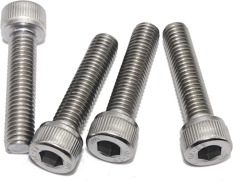 DIN 912 - Zylinderkopf Schrauben ISO 4762 Eisenwaren2000 Edelstahl A2 V2A- rostfrei Gewindeschrauben 40 St/ück Zylinderschrauben mit Innensechskant M8 x 30 mm