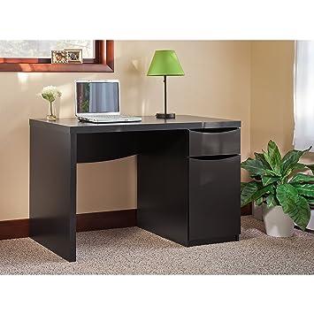 montrese computer desk in classic black