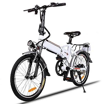 begorey Bicicleta Eléctrica Plegable De Montaña Del Marco De La Aleación De Aluminio De La Rueda