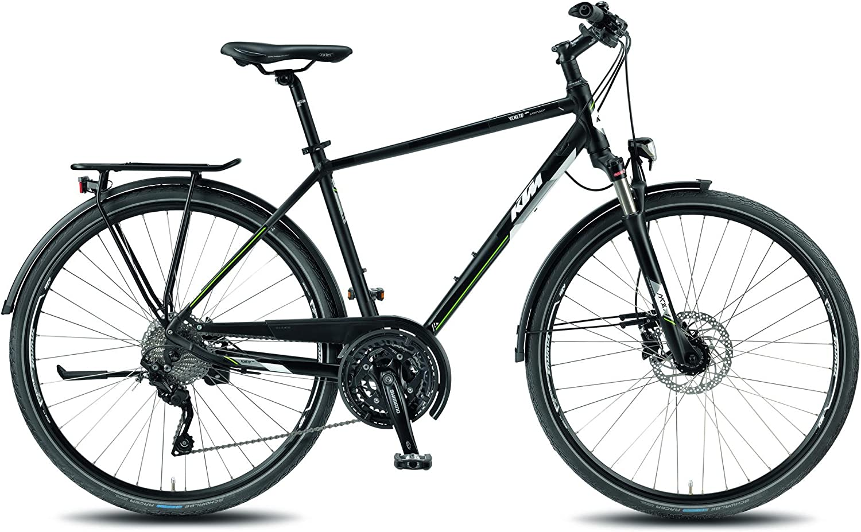 KTM bicicleta de trekking Veneto Light Disc Hombre Negro 2018 ...
