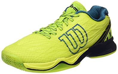Wilson WRS323470E, Zapatillas de Tenis Hombre, Verde (Lime Punch ...