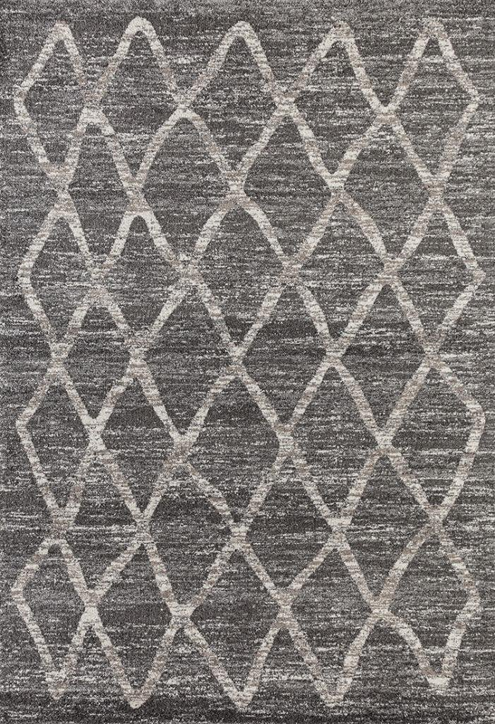 Dara 4105 Gray Modern 8 x 10 Area Rug Carpet Large New by Dara-Rugs