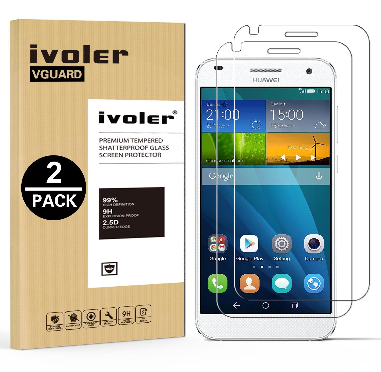 Pack Huawei G Protector de Pantalla iVoler mm Dureza H Protector de