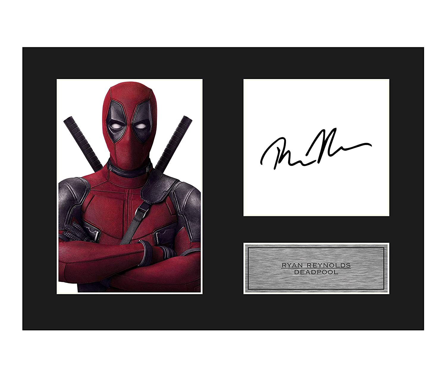 Ryan Reynolds Signed Mounted Photo Display Deadpool #01 A4 Printed Autograph Gift Picture Print