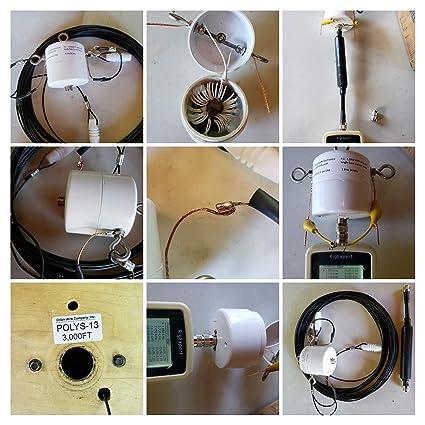 OCF 8 Bands 160-6 HF Windom Antenna Flex-Weave