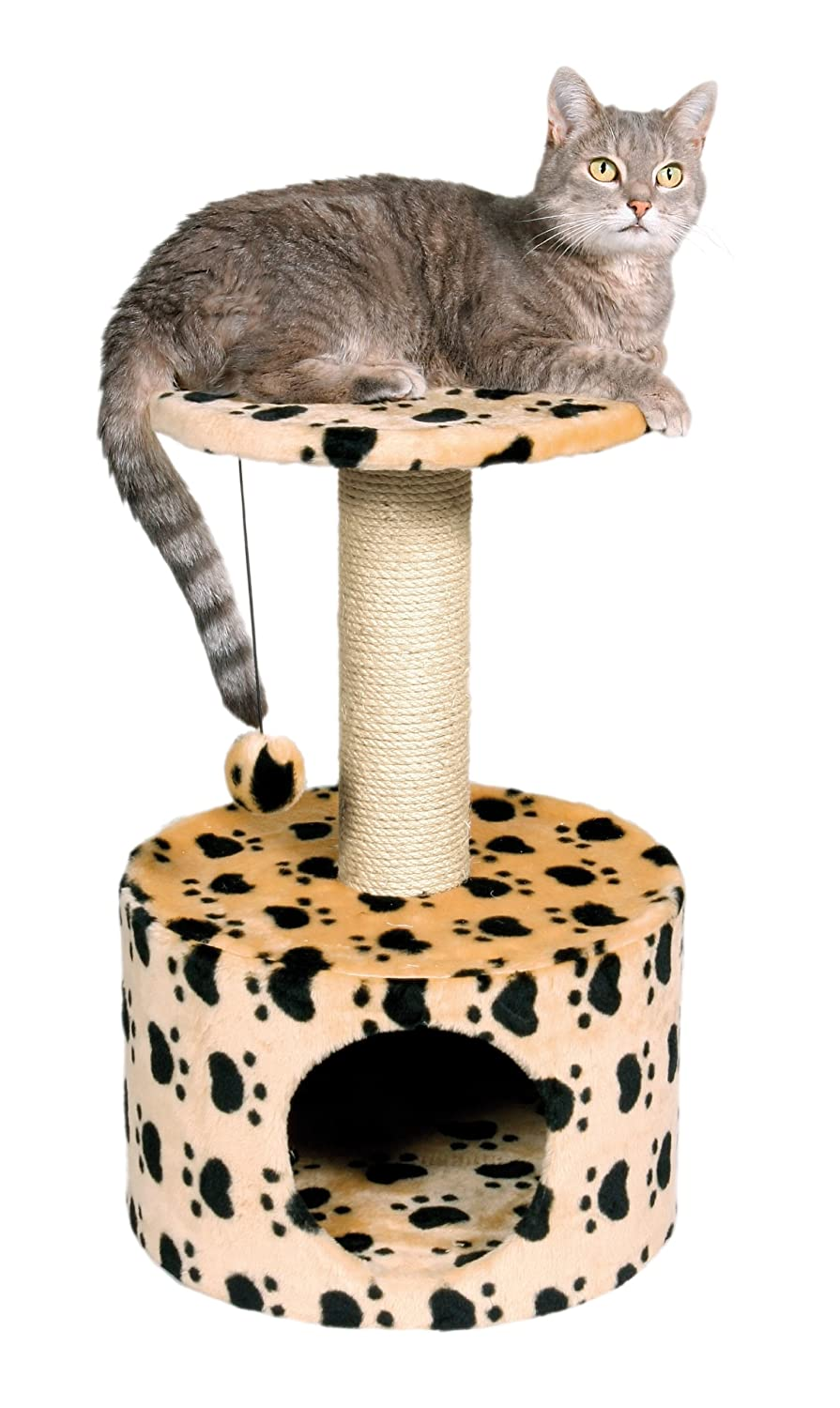 Trixie Pet Toledo Paw Print Cat Condo