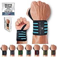 "BLACKROX Polsbandage Wrist Wraps ""Beast Killer"" 2x polssteun mannen en vrouwen polsbandage voor sport, fitness, gym…"