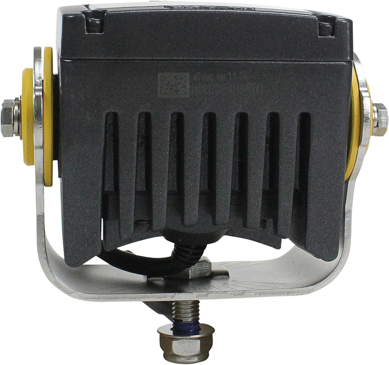 Degreed Aiming -10/° Spot 20 Watt High Intensity LED Light 2 LEDs 1,840 Lumens Soft Start LEDs