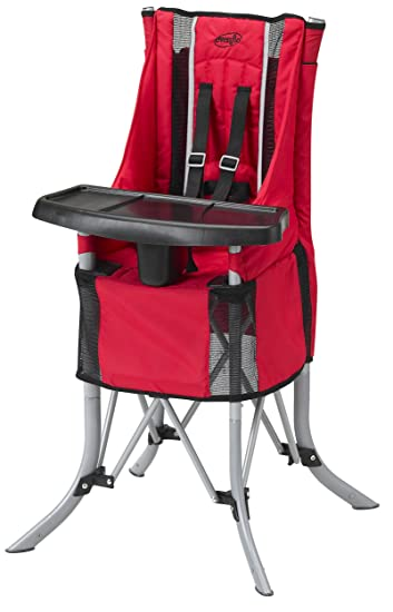 Evenflo BabyGo High Chair   Red (Discontinued By Manufacturer)