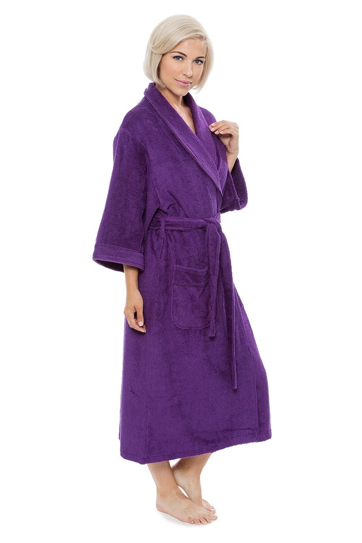 67cfbc639d033 Women s Luxury Terry Cloth Bathrobe - Bamboo Viscose Robe by Texere ...