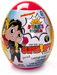 Ryan's World Super Spy Ryan's Giant Egg (Amazon Exclusive)