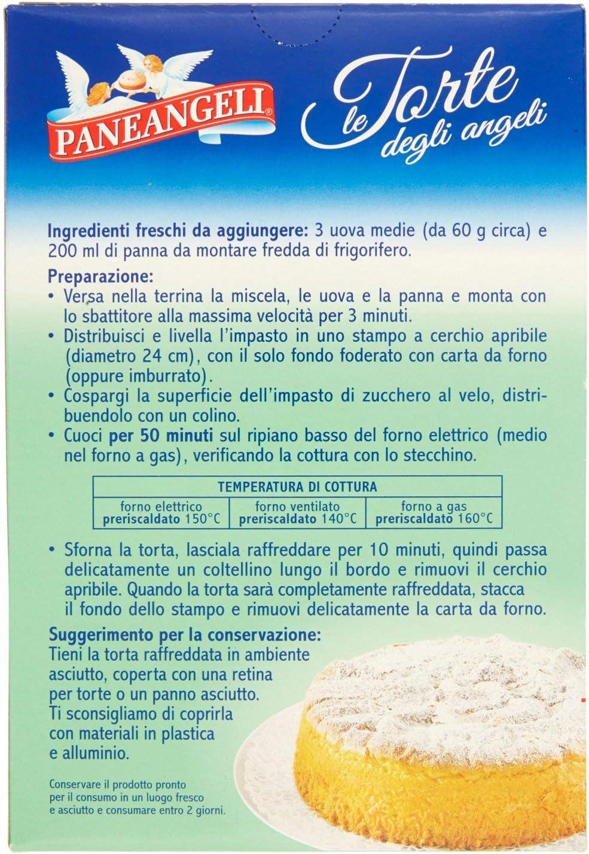 Ricetta Pan Di Spagna Pane Degli Angeli.Preparato Torta Degli Angeli Alla Vaniglia 410 G Amazon It Alimentari E Cura Della Casa