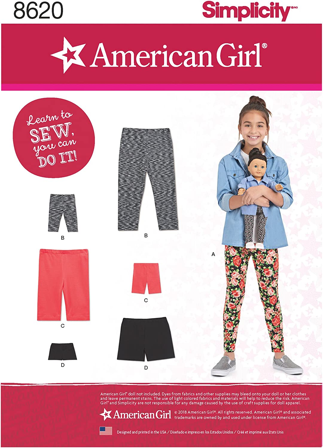 Simplicity Creative Patterns US8622OS Home Décor, One Size
