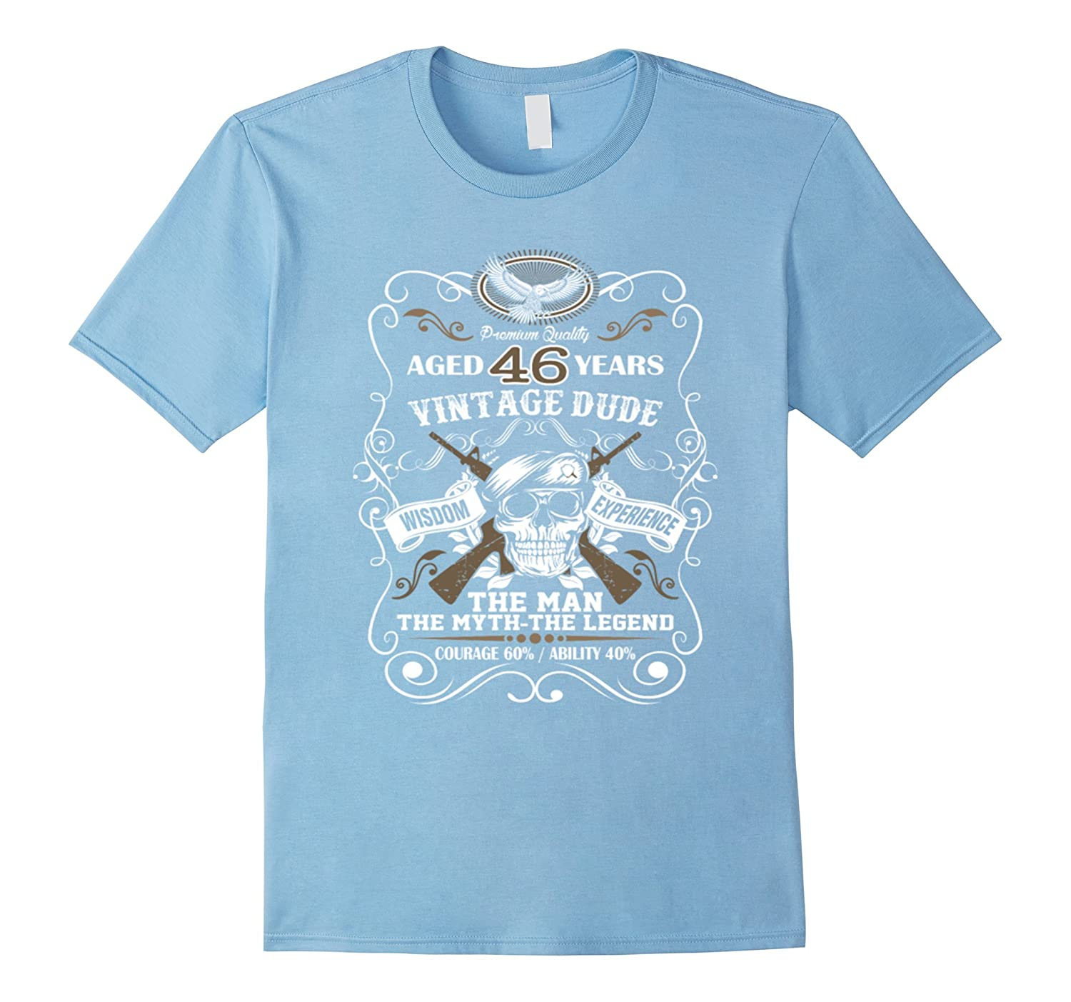 Aged 46 Years Vintage Dude T-Shirt