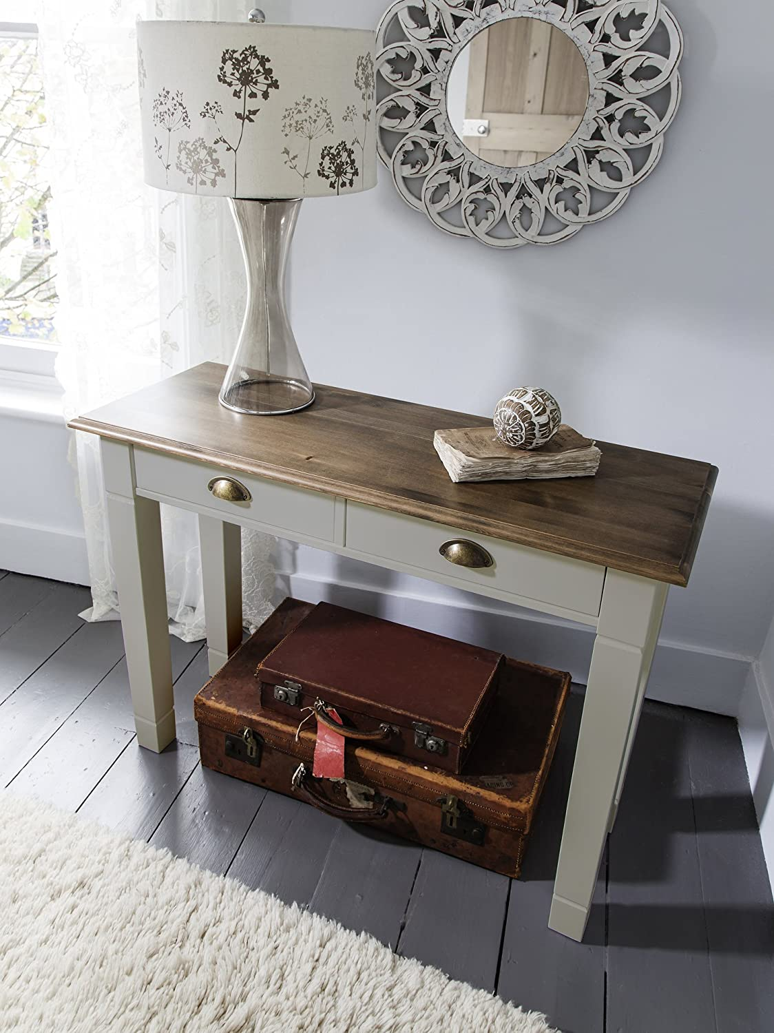 Superior Canterbury Console Table In Dark Pine And Silk Grey Noa U0026 Nani:  Amazon.co.uk: Kitchen U0026 Home