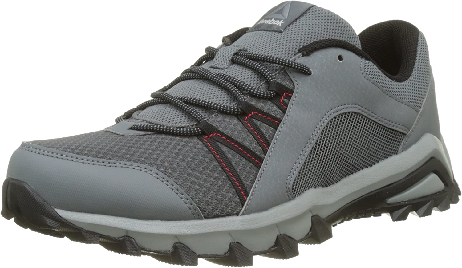 Reebok Trailgrip 6.0, Zapatillas de Trail Running para Hombre, Plateado (Alloy/Flint Grey/Black/Primal Red), 44 EU: Amazon.es: Zapatos y complementos