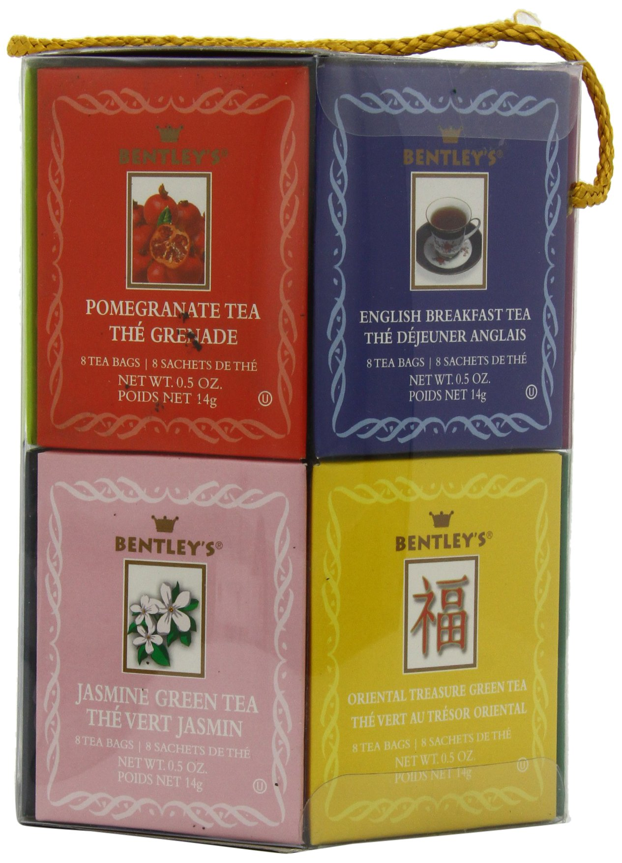 Bentley's Royal Classic Collection Assorted Flavor Gift Pack, 96 Tea Bags (Pack of 2), Includes 8 Bags Each of a Variety of Black and Green Tea Flavors by Bentley's (Image #4)