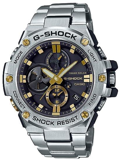 CASIO Reloj Hombre de Digital con Correa en Acero Inoxidable GST-B100D-1A9ER: Amazon.es: Relojes