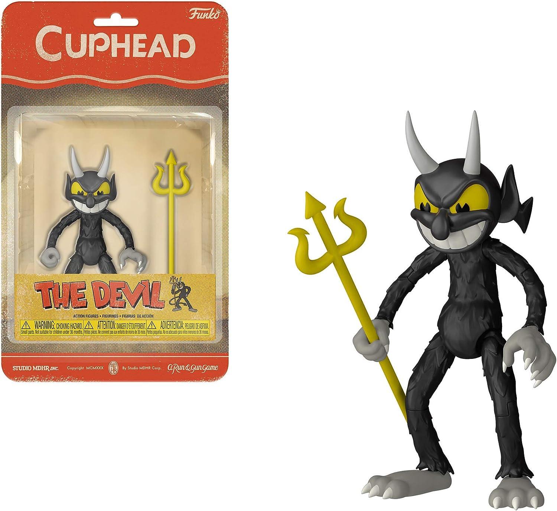 Funko - Action Figure: Cuphead: The Devil, Multicolor, 33424: Amazon.es: Juguetes y juegos
