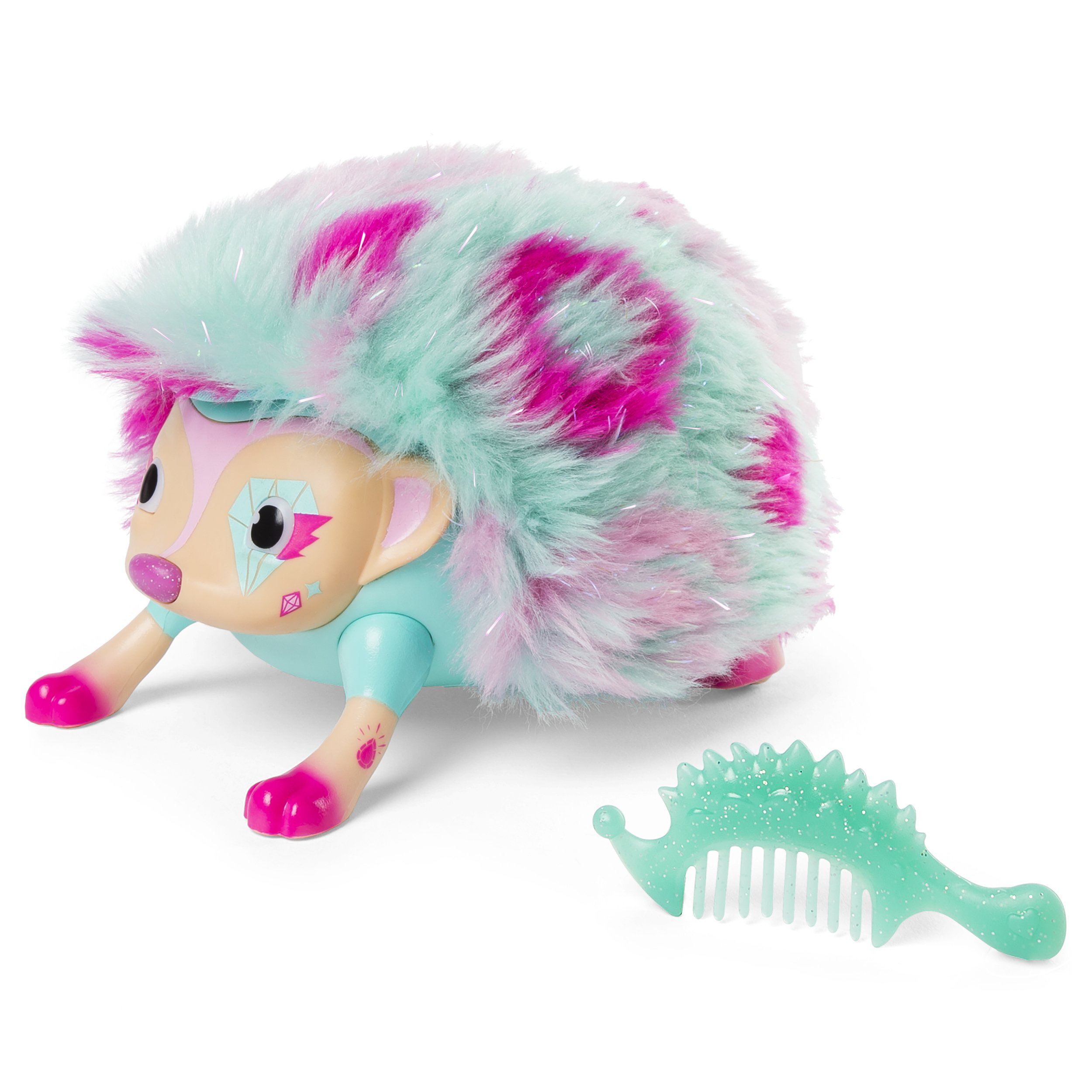 Zoomer Hedgiez Interactive Hedgehog with Lights, Sounds and Sensors, by Spin Master by Zoomer (Image #1)