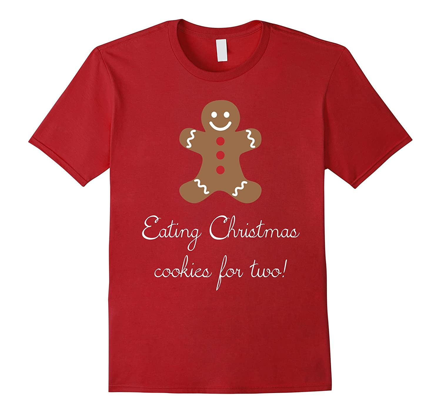 d95aa836 Funny Christmas Pregnancy Shirt - Christmas Cookies for Two-ANZ ...