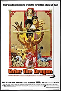 72207 Enter The Dragon Movie Kung-Fu Decor Wall 36x24 Poster Print
