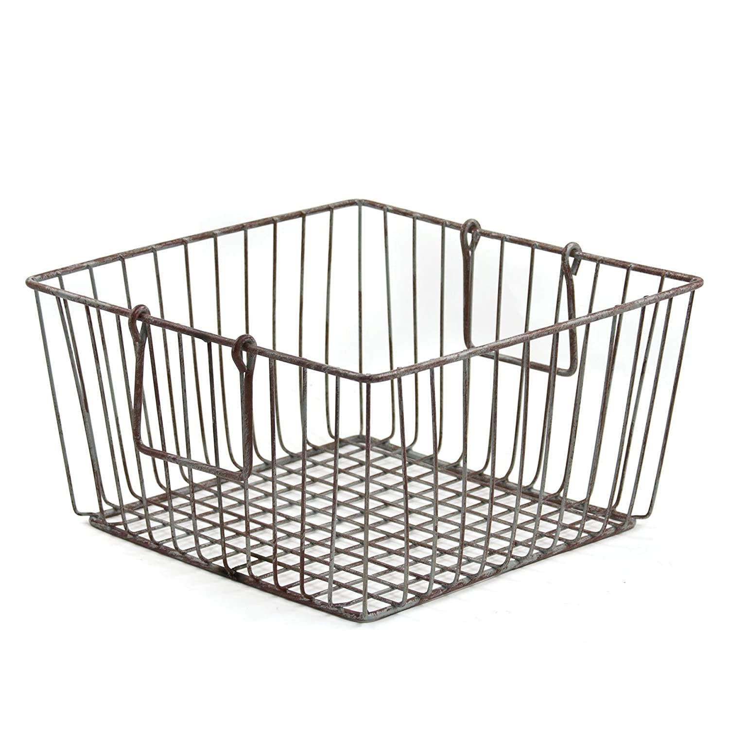 Amazon.com: Skalny Square Wire Storage Container, 11.75 x 6.25 ...