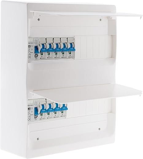 Zenitech 150220 Coffret T3 26 Modules Blanc