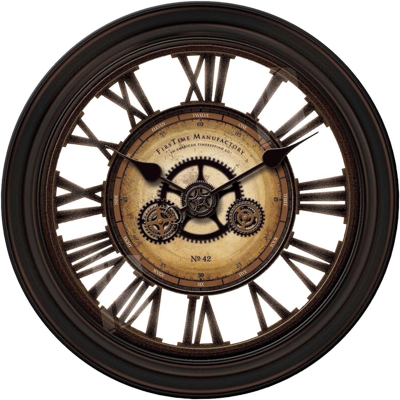 Amazon Gear Works Wall Clock Home & Kitchen