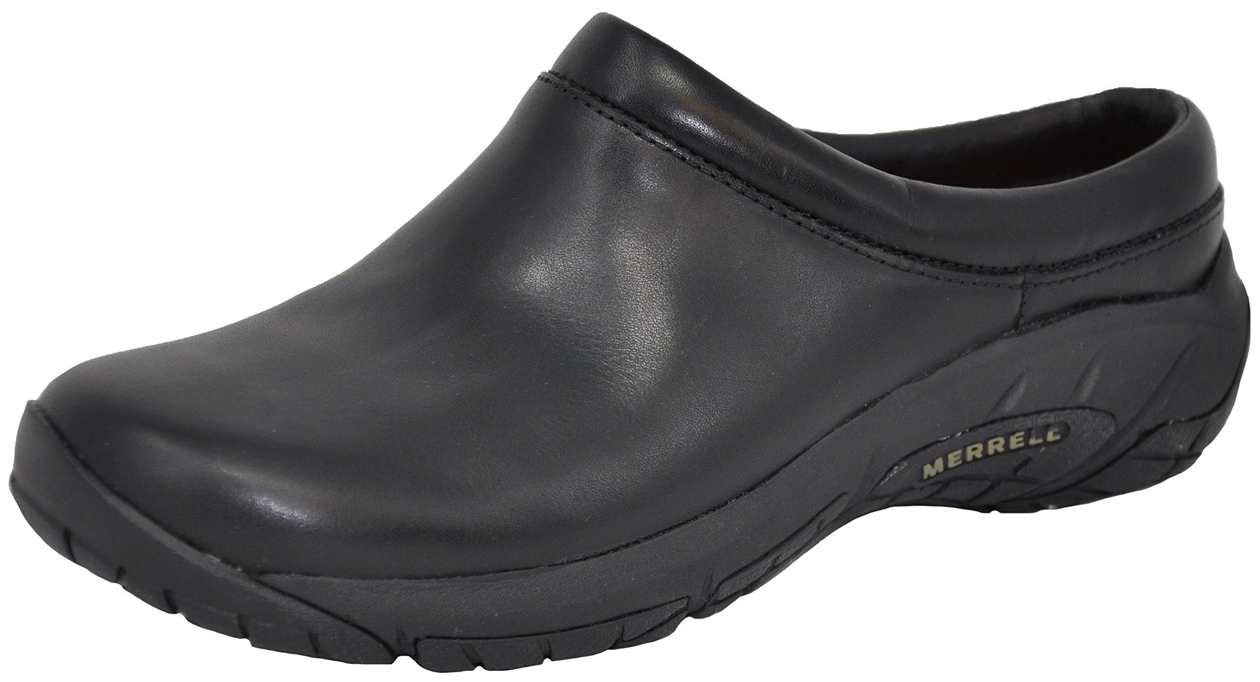 Merrell Women's Encore Nova 2 Slip-On Shoe, Black Smooth, 8 M US by Merrell