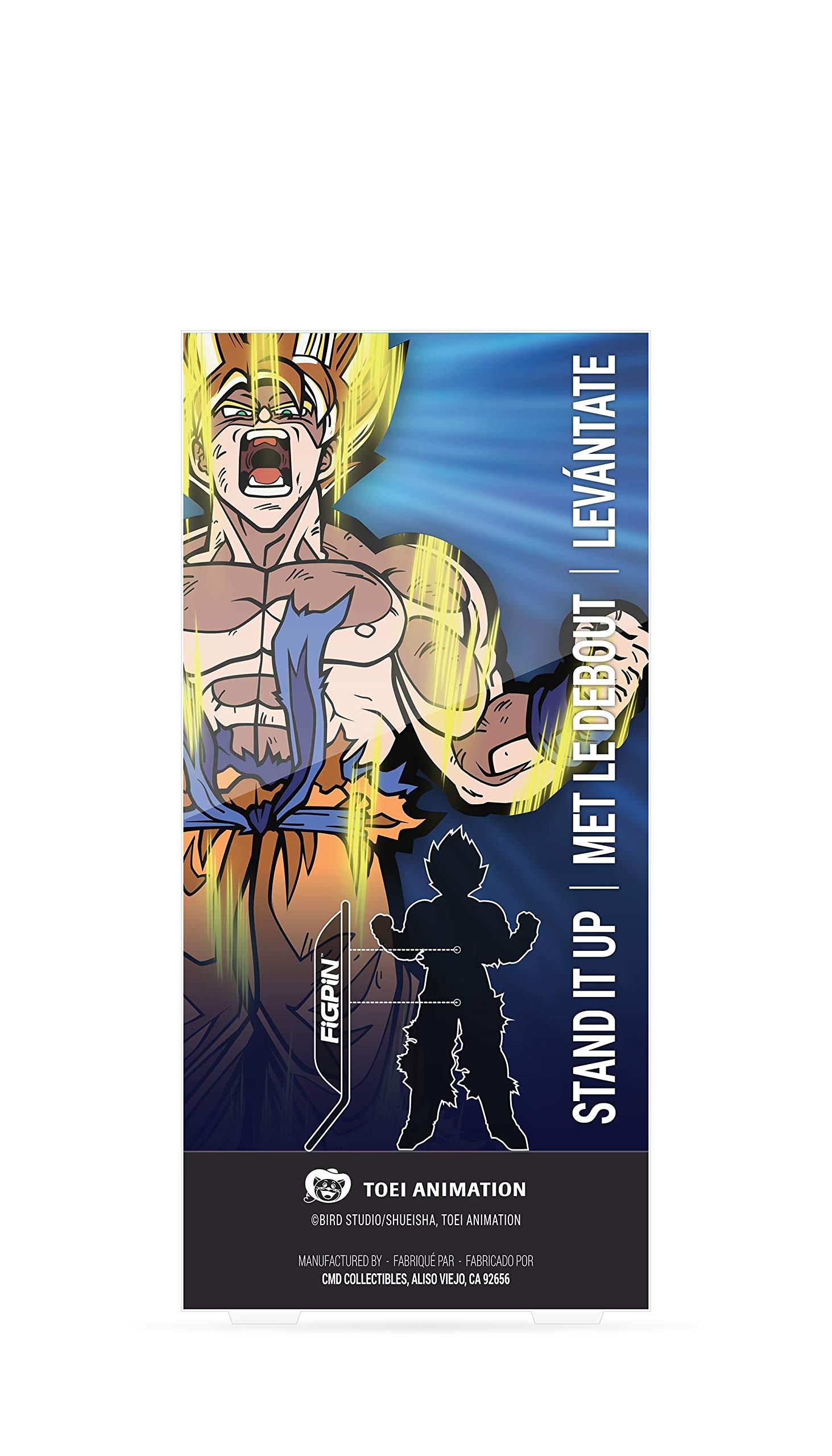 FiGPiN XL Dragon Ball Z: Super Saiyan Goku - Collectible Pin by FiGPiN (Image #2)