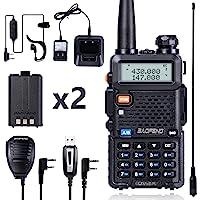 $39 » BaoFeng UV-5R Dual Band Two Way Radio (Black)