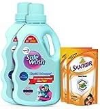 Safewash Woolen Liquid Detergent 2 Handwash Refill Free (1kg 1+1)