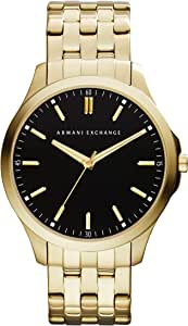 Bevilles Armani Exchange Mens Gold Watch AX2145 Stainless Steel 0723763217194
