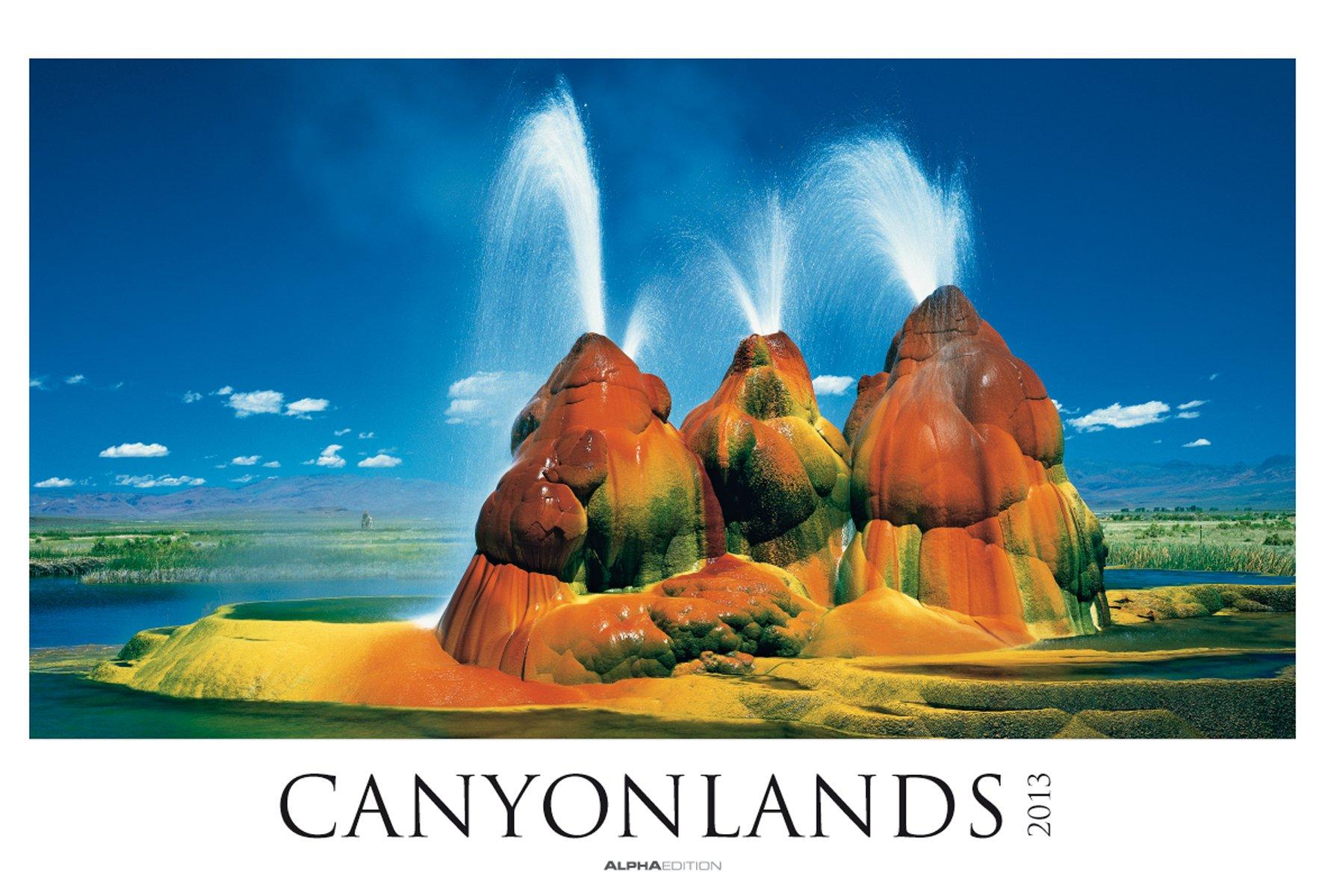 Canyonlands, Bildkalender 2013