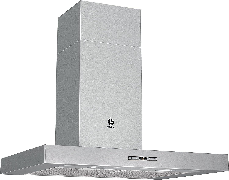 Balay 3BC875XM - Campana (Montado en pared, Canalizado/Recirculación, A+, Acero inoxidable, Botones, Aluminio): 306.36: Amazon.es: Grandes electrodomésticos