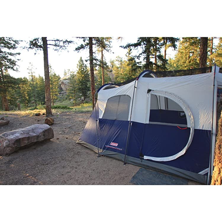 Coleman Elite WeatherMaster 6 Screened Tent,Multi Colored,6L x 9W ft