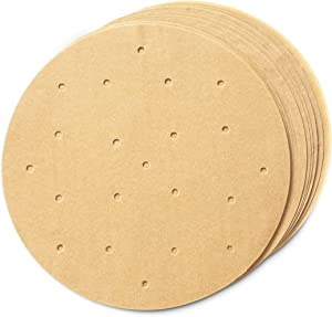 Air Fryer Liners, Unbleached Parchment Paper Rounds (8 In, 200 Pack)