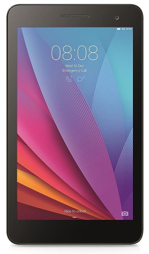 Huawei Mediapad T1 7 - Tablet de 7 pulgadas (WiFi, Procesador quad-core, 1 GB de RAM, 8 GB de memoria interna, Android 4.4 + EMUI 3.0), color negro