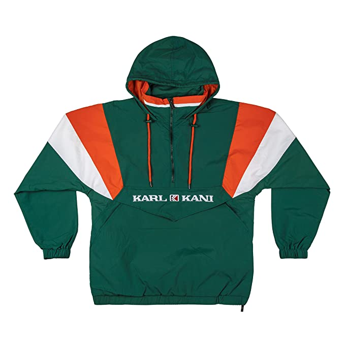 Karl Kani Men Windbreaker Retro Blocked, Größe:XL, Farbe ...