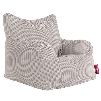 Amazonde Lounge Pug Sitzsack Ohrensessel Cord Creme
