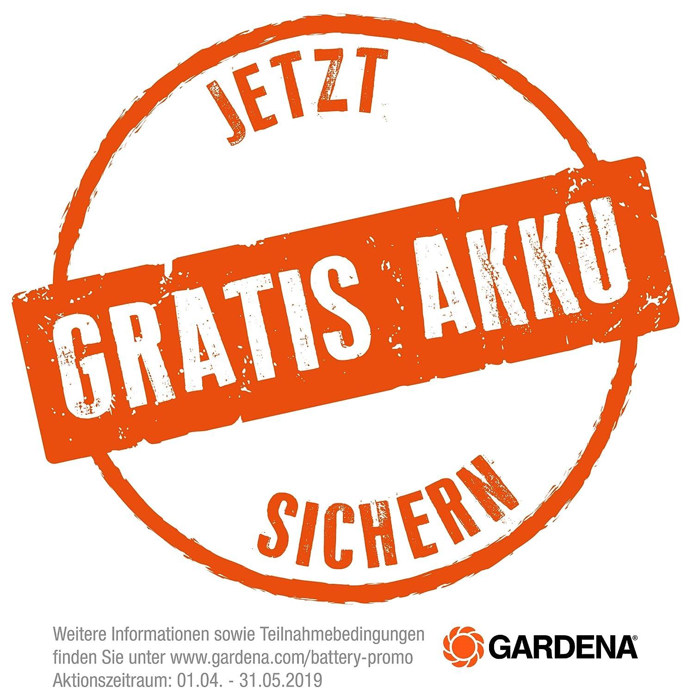 Gardena 05033-20 PowerMax Li-40//32 Tondeuse sur accu